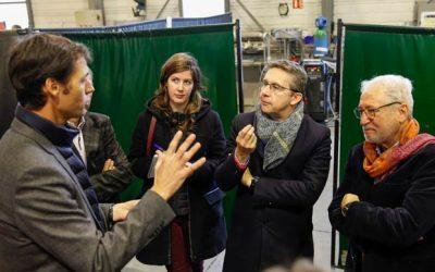 Visite du président de Grenoble Alpes Métropole