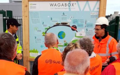 Tour of WAGABOX® in Gueltas, France