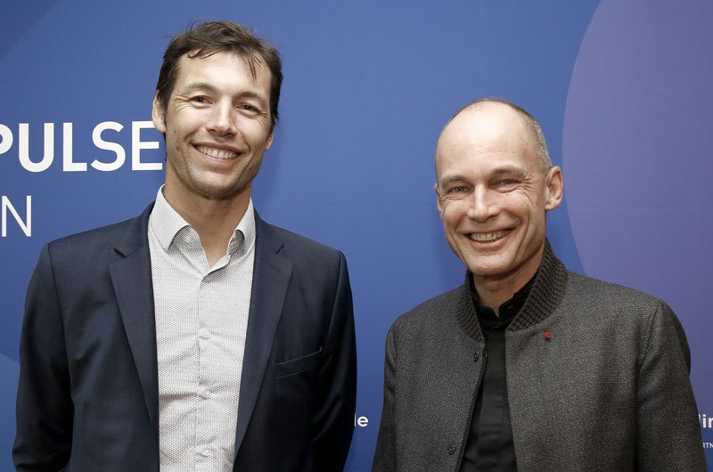 Mathieu Lefebvre et Bertrand Piccard