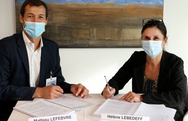 Signature contrat REP Veolia Claye-Souilly