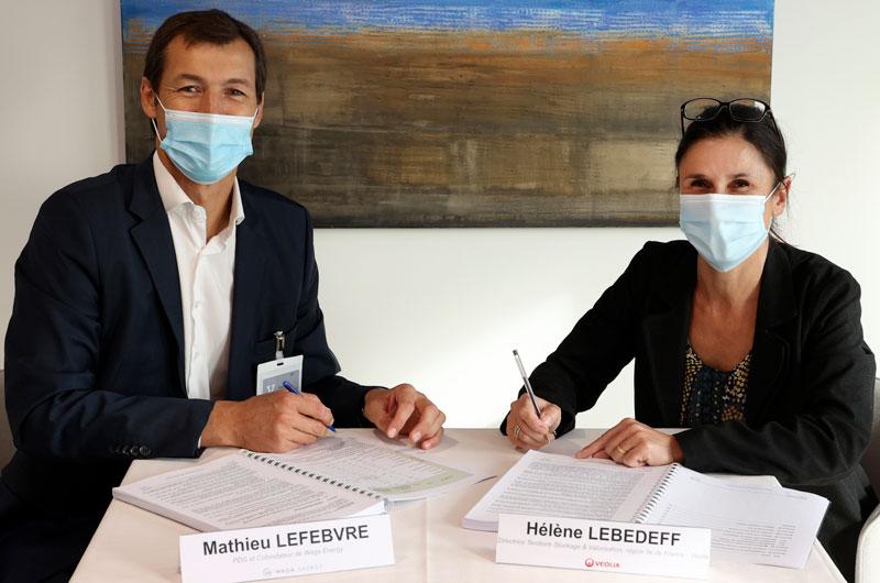 Contrat REP Veolia injection de biométhane Claye-Souilly