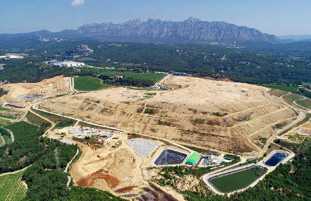 The Can Mata landfill site is one of the largest in Spain.